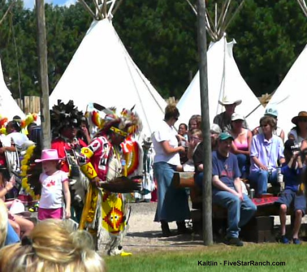 Indian Village at Cheynne Frontier Days