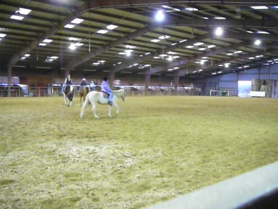 Interior of Indoor Riding Arena
