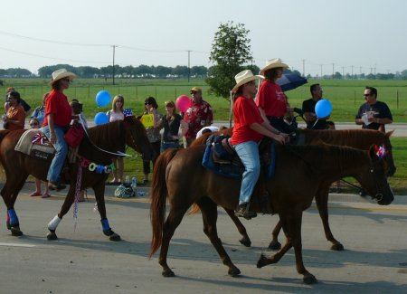 Good trail horses are also good parade and all around horses.